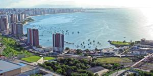 Atlantic Ocean, Apartments  Fortaleza - big - 20