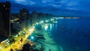 Atlantic Ocean, Apartments  Fortaleza - big - 19