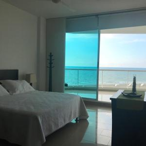 Terrazino Suites Frente al Mar, Appartamenti  Cartagena de Indias - big - 49