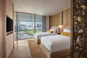 Deluxe Twin Room with Park View