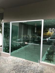 Amplo Temporada próximo Expominas, Apartmány  Belo Horizonte - big - 38