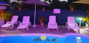 Villa les 4R, Villas  Les Abymes - big - 52