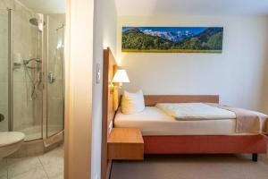Hotel Garni Brunnthaler, Отели  Гармиш-Партенкирхен - big - 11