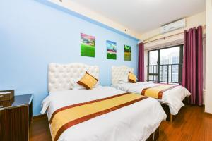 Guangzhou Bin Ke International Apartment Pazhou Branch, Apartmány  Kanton - big - 16