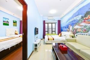 Guangzhou Bin Ke International Apartment Pazhou Branch, Apartmány  Kanton - big - 29