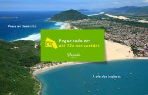 Parada Beach Pousada & Restaurante, Penziony  Florianópolis - big - 24