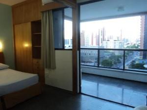Flat Via Venetto Meirelles, Apartmanok  Fortaleza - big - 13