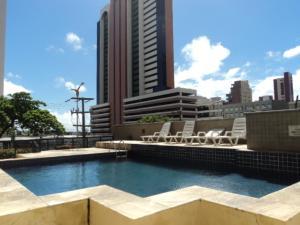 Flat Via Venetto Meirelles, Apartmanok  Fortaleza - big - 6