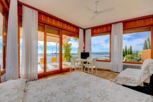 La Villa Fasano, Apartmánové hotely  Gardone Riviera - big - 147