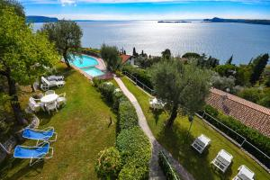 La Villa Fasano, Apartmánové hotely  Gardone Riviera - big - 144