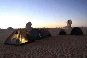 White desert, Campsites  Bawiti - big - 2