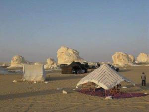 White desert, Campsites  Bawiti - big - 3