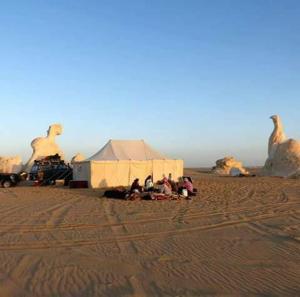 White desert, Campsites  Bawiti - big - 7