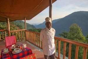 Gorilla Closeup Lodge, Chaty v prírode  Kisoro - big - 117
