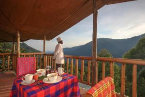 Gorilla Closeup Lodge, Chaty v prírode  Kisoro - big - 5