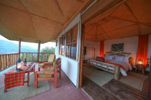 Gorilla Closeup Lodge, Chaty v prírode  Kisoro - big - 103