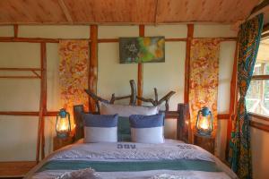 Gorilla Closeup Lodge, Chaty v prírode  Kisoro - big - 7