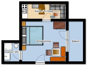Gästehaus Gapp, Фермерские дома  Wildermieming - big - 2