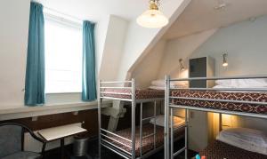 ドミトリールーム 男女共用 ベッド計6台のベッド1台
