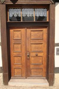 Urlaub im Fachwerk - Das Sattlerhaus, Apartments  Quedlinburg - big - 39
