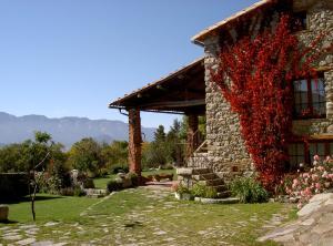 Casa Rural Cal Rei, Vidiecke domy  Lles - big - 49