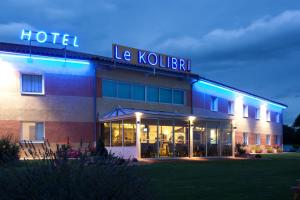 Hôtel Le Kolibri, Hotely  Tournus - big - 38