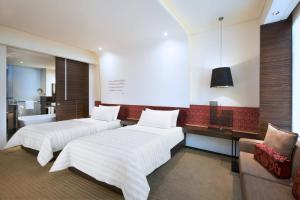 Vista, Guest room, 2 Twin/Single Bed(s), City view