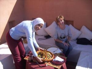 Dar El Calame, Riádok  Marrákes - big - 48