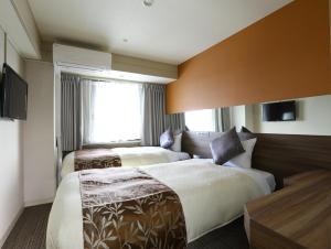 The Hedistar Hotel Narita, Отели эконом-класса  Нарита - big - 17