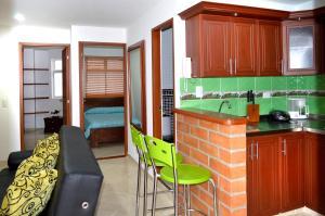 Zojo Apartamentos, Appartamenti  Medellín - big - 18
