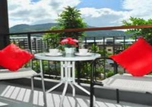 Emerald: Apartment in Patong, Ferienwohnungen  Strand Patong - big - 41