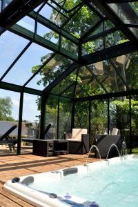 Hostellerie de la Vieille Ferme, Hotely  Criel-sur-Mer - big - 75