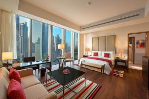Premier Double Room With Burj Khalifa View