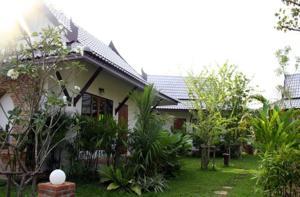 Villa med udsigt til haven