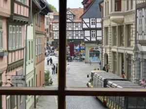Ferienwohnungen Marktstrasse 15, Apartmány  Quedlinburg - big - 12