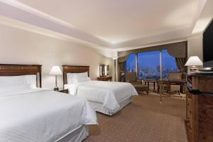 Deluxe City View, Guest room, 2 Double, Tokyo Tower view