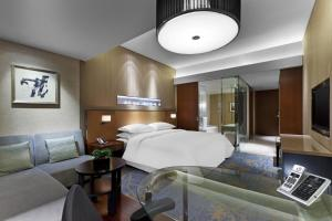 Club King Bed Room, Club lounge access, Guest room, 1 King