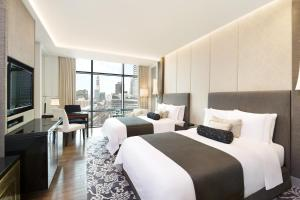 Grand Deluxe Room, Guest room, 2 Double, City View view