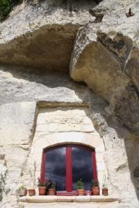 Les Chambres d'Hôtes Troglo du Rossignolet, Panziók  Loches - big - 13