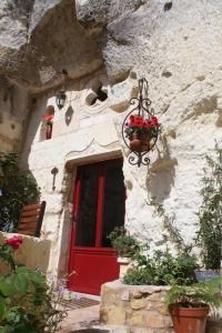 Les Chambres d'Hôtes Troglo du Rossignolet, Panziók  Loches - big - 11