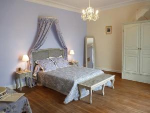 La Villa Bleue de Mauleon, B&B (nocľahy s raňajkami)  Mauléon - big - 5