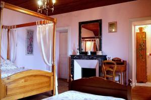 La Villa Bleue de Mauleon, B&B (nocľahy s raňajkami)  Mauléon - big - 13