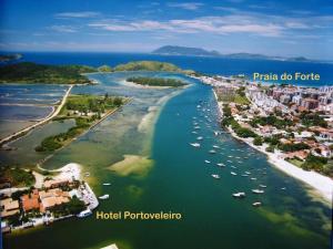 Hotel Residencial Portoveleiro, Гостевые дома  Кабу-Фриу - big - 128