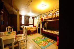 Familieværelse med dobbeltseng