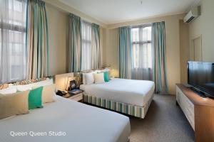 Studio se dvěma oddělenými postelemi