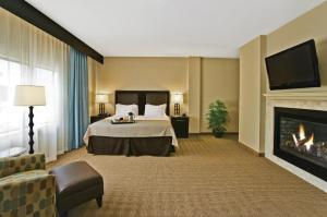 King Room with Roll in Shower - Disability/Hearing Accessible - Non-Smoking