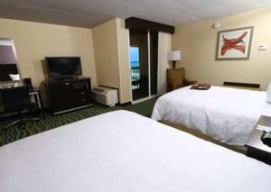 Hampton Inn Daytona Beach/Beachfront, Отели  Дейтона-Бич - big - 2