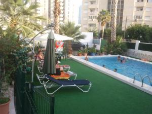 Apartamentos Ocaña, Apartments  Cala de Finestrat - big - 25