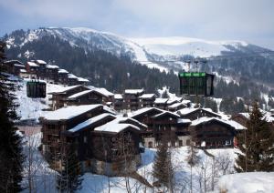 Résidence Maeva Planchamp et Mottet, Apartmánové hotely  Valmorel - big - 23