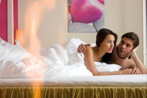 Alpen-Herz Romantik & Spa - Adults Only, Hotely  Ladis - big - 19